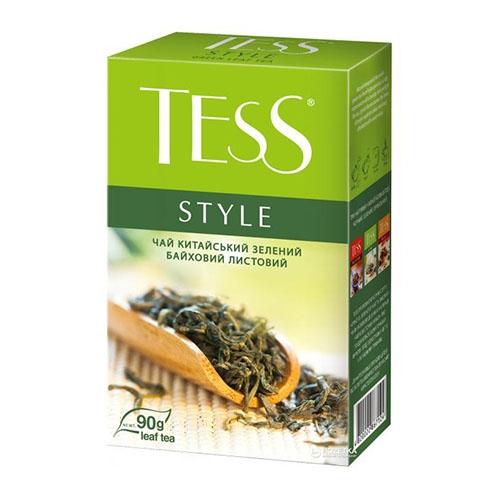 Чай Tess Style зелений листовий 90 г