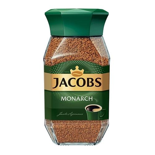Jacobs Monarch Кава розчинна, скляна банка