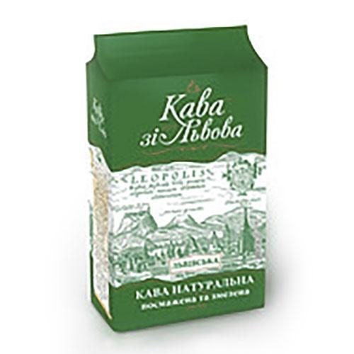 Кава зі Львова кава мелена Львівська, 225 г