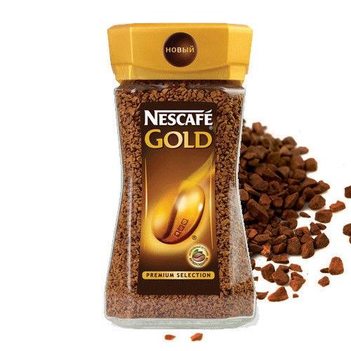 Nescafe Gold Кава розчинна, скляна банка, 100 г