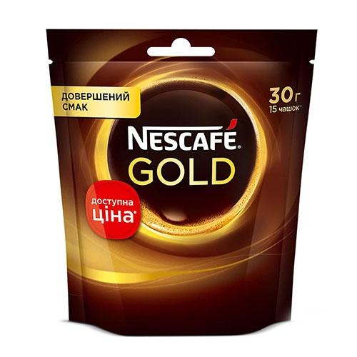 Nescafe Gold Кава розчинна, пакет