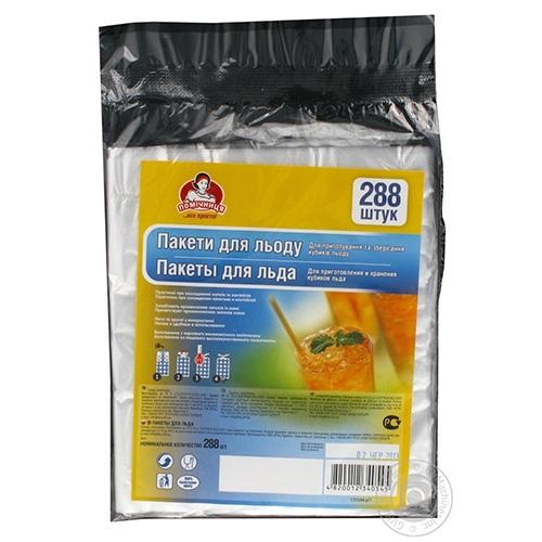 Пакети для льоду Помічниця, 288 шт