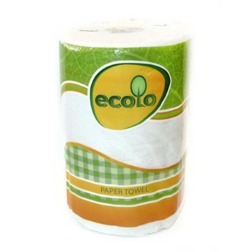 Паперові рушники Ecolo мегапак