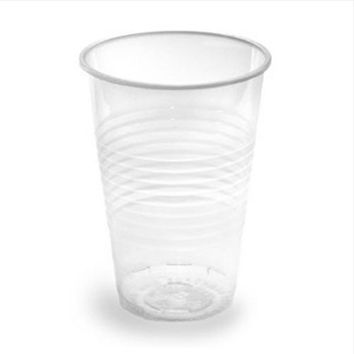 Стакан одноразовий пластиковий 200 мл, 100 шт