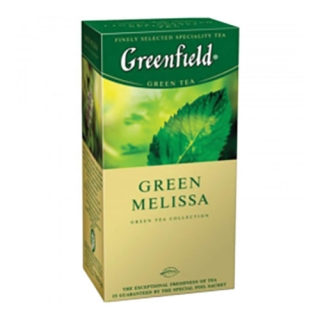 Чай Greenfield Green Melissa зелений, 25 шт