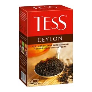Чай Тесс Цейлон байховий 90 г