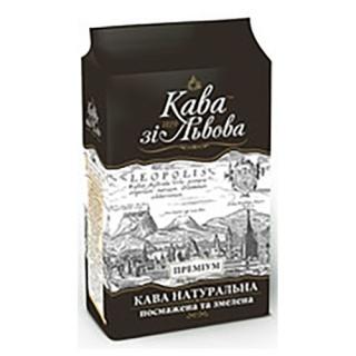 Кава зі Львова кава мелена Преміум, 225 г