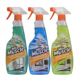 Mr. Muscle, 500 мл, засіб для миття скла