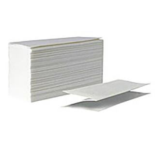 Паперові рушники одношарові Z-укладка, 160 шт