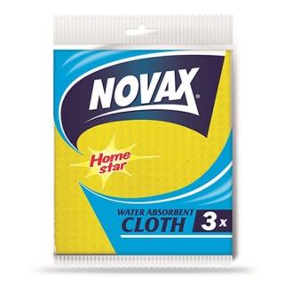 Серветки для прибирання вологопоглинаючі NOVAX 3 шт