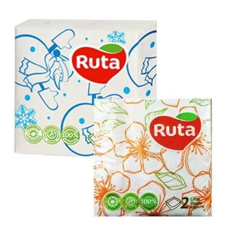 Серветки двошарові Ruta 40 листів