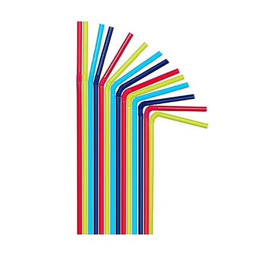 Трубочка смугаста кольорова, 200 шт