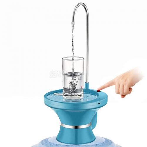 ViO E3, Помпа електрична для води в19л бутилях, чорна/біла/синя