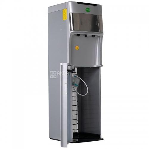 ViO Х1185-FCB Silver, Підлоговий кулер з нижнім завантаженням, компресорний тип охолодження